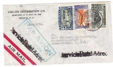 Mexico Sc#C79,#C77,#C78-AGENCIA No.30 4/JUL/1936-AIR MAIL to GERMANY