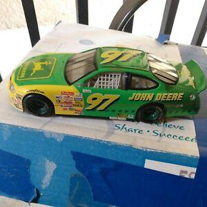 1997 Mattel John Deere NASCAR Car Hotwheels Chad Little Diecast