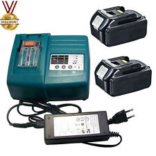 2X Makita Battery for BL1845 18V 4.5Ah &Charger DC18RA DC18RC LXT400 Lithium-ion