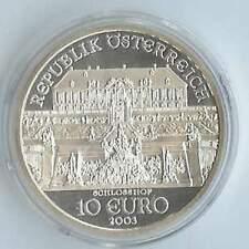 Oostenrijk 10 euro 2003 Proof zilver PP: Schloss Hof