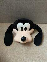 Vintage 90's Disney Goofy Hard Plastic 3D Mesh Snap-back Trucker Hat