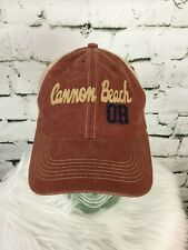 Canon Beach Oregon Hat Cap Vented SnapBack Burnt Orange Collectible Souvenir