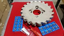 "MFPN4510000R20T KYOCERA 10"" 20 TOOTH MILLING CUTTER W/20 INSERTS KIT"
