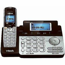 VTech DS6151 2-Line Cordless Phone System for Home or Small Business with Digit