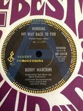"BOBBI  BOBBY  MARCHINI RADIO STATION A PROMO AUSTRALIA  45 7"" ALBERT PRODUCTIONS"