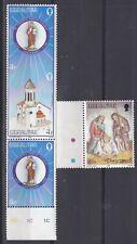 Gibraltar 1985 Christmas Set UM