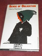 Sense of Obligation by Harry Harrison (1967) UK 1st HC SIGNED bookplate Dobson