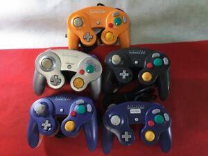 P12924 Nintendo GameCube controller Violet Japan GC 5 controllers set Japan GC