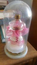 Vintage  Figural Perfume Bottle woman torso  Naughty 90's By Milart