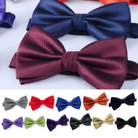 1pcs Homme Mariage Party Business Noeud Papillon Tuxedo Cravate Bowtie Réglable