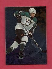 RARE 1998-99 BE A PLAYER # 5 DUCKS TED DRURY  AUTHOGRAPH CARD