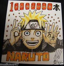 SDCC Comic Con 2012 Handout NARUTO 10,000,000 promo print