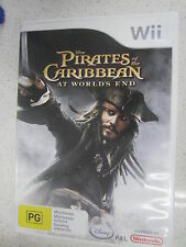 pirates of the caribbean at world's end wii
