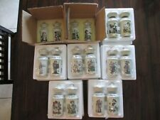 Mj Hummel Porcelain Spice Jars 16 Count 1987 Switzerland Vintage Hummel