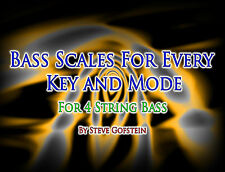 4 String Bass Guitar Scales All Modes & Keys Pdf Book