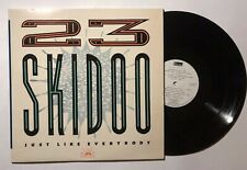 23 SKIDOO Just Like Everybody LP Bleeding Chin BC-1 UK 1987 VG+ Industrial 04B