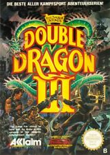 Nintendo NES Game-Double Dragon III/3: the Sacred Stones PAL B with OVP