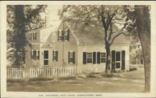 Yarmouthport Cape Cod MA Anchorage Guest House Real Photo Postcard