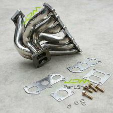 Stainless Steel T4 Turbo Exhaust Manifold Headers for Toyota Supra JZA70 1JZ-GTE