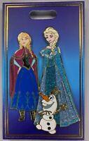 2019 Disney D23 Expo WDI Heroines & Sidekicks Elsa Anna Olaf Frozen Pin LE 300