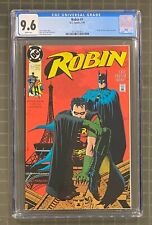 ROBIN #1 DC Comics 1991 Batman CGC 9.6 Poster by Neal Adams Included