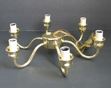 Vintage 6 Arm Candelabra Ceiling Light Bulb Socket Cluster Part Chandelier Lamp