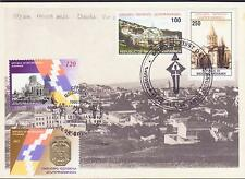 SHUSHI LIBERATION 1998 2012 NAGORNO KARABAKH ARMENIA MAXICARD MAXIMUM R15815