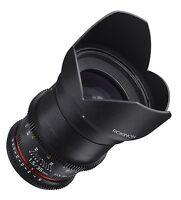 Rokinon Cine DS 35mm T1.5 AS IF UMC Full Frame Cine Lens f/ Canon EF- DS35M-C