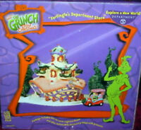 NIB Dept 56 Dr. Seuss How the Grinch Farfingle's Dept Store New Farfingels