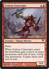 Avacyn Restored ~ ZEALOUS CONSCRIPTS rare Magic the Gathering card