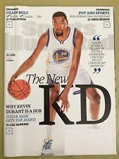 Sports Illustrated Jul 18, 2016, Kevin Durant, USAIN BOLT, Ships Anywhere Today!