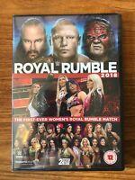 WWE: Royal Rumble 2018 (DVD,2018) Brand New Sealed