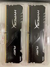 New listing Hyperx Fury 32Gb (2x16Gb) 3733Mhz Cl19 Rgb Ram Hx432C16Fb3Ak2/32