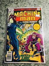 Machine Man #4 The Living Robot VINTAGE COMIC BOOK KEY B2-165