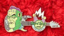 Hard Rock Cafe Pin Orlando FRANKENSTEIN Classic halloween movie guitar hat lapel