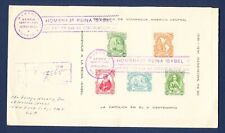 NICARAGUA - # C320a - VF S/S on FDC mailed to Nassau St - Catholic Church - 1952