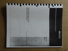 manuel Operating manual synthesizer / function generator HP 3325A (en anglais)