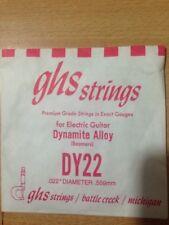 + corda chitarra acustica elettrica GHS Plain Steel Single String, dy22