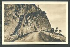 Anacapri ( Napoli ) : Antica scala - cartolina non viaggiata anni '30