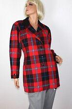 Karierte Damenjacken & -mäntel im Sonstige Jacken-Stil mit Wolle für Freizeit