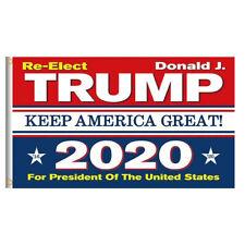 Re-Elect Trump 2020 President US Keep America Great Make Donald 3x5 Ft Flag USA