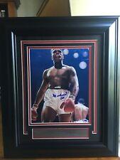 """Muhammad Ali Framed Photo 8""""x10"""" Autographed PSA LOA Graded """"10"""""""