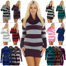 Unbranded Striped Cowl Neck Jumpers & Cardigans for Women