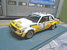 OPEL Ascona B Gr.2 Rallye San Remo 1979 #18 Cerrato Conrero Mobil NEO  1:43