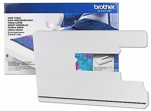 BROTHER WIDE EXTENSION TABLE WT10 GENUINE FITS Brother XV V7 V5 VQ2   B291
