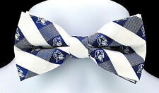 Duke University Blue Devils Plaid Mens Bow Tie Adjustable College Gift Bowtie