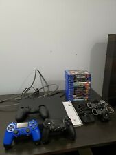PS4 - Sony PlayStation 4 1TB + 14 Games + 2 Controllers + More - NEAR NEW!