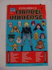 Official Handbook of the Marvel Universe: Master Edition #3 (1991) * Marvel *