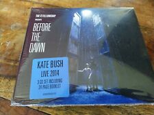 Kate Bush Before The Dawn Live 2014 The K Fellowship New 3xCD