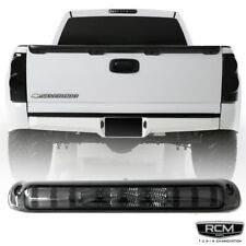 For 99 06 Chevy Silverado Gmc Sierra LED Third Brake Light Smoke Lens